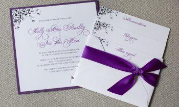 Bespoke Wedding Invitation Cards